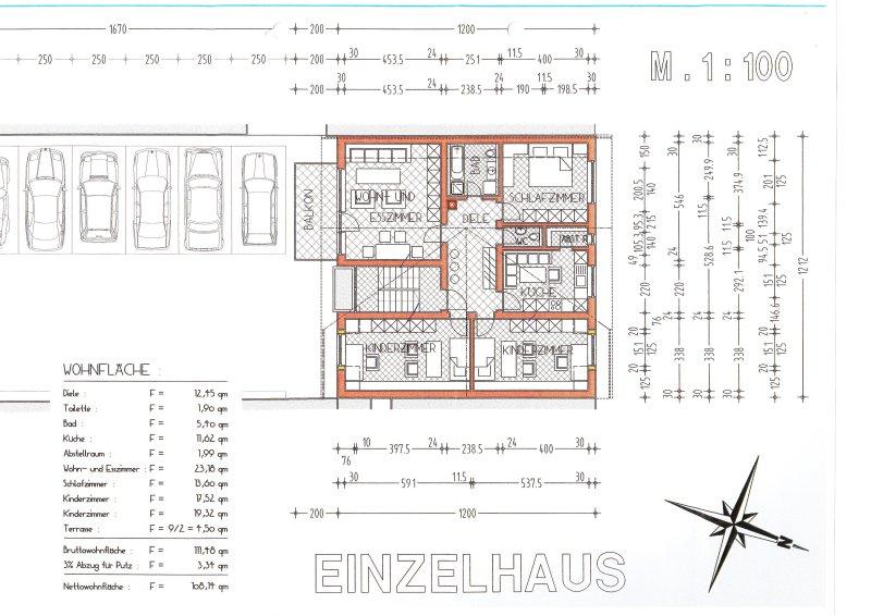 Bauunternehmen oronzo piroscia gmbh for Bauplan zweifamilienhaus